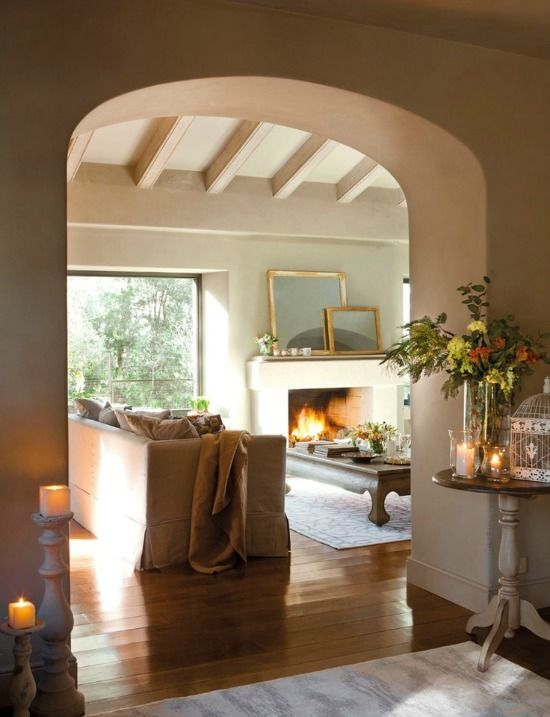 Warm and inviting, cozy: