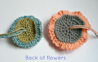 Nicely Created For You: FREE PATTERN - Simple Crochet Flowers
