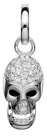 Story Silver Skull Charm