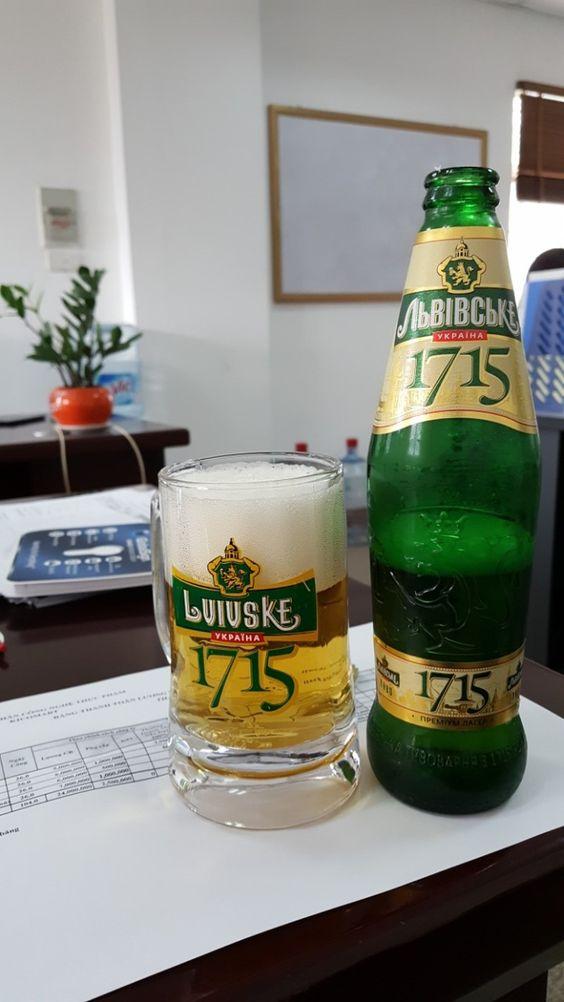 Bia 1715 4.8% - Chai 475ml - Bia Nga Nhập Khẩu TPHCM