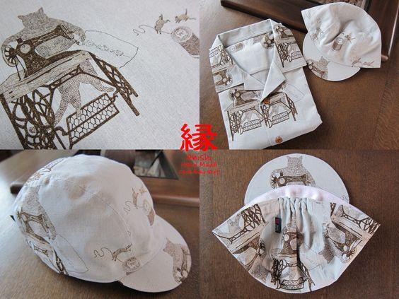 cycle aloha shirt & cyclecap ..... ネコミシン https://www.flickr.com/photos/enishi-kyoto/
