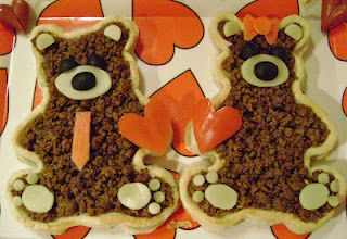 Beary Cute Taco Tart.  So cute. And easy. And yummy.
