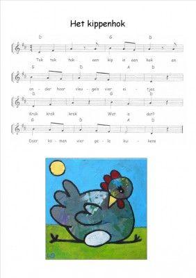 Lied 'Het kippenhok':