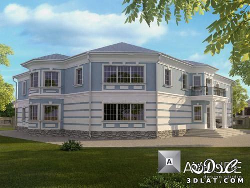 تشطيبات واجهات منازل 2019 تشطيبات واجهات فلل 2019 تشطيبات واجهات بتصميمات روسية House Styles House Mansions
