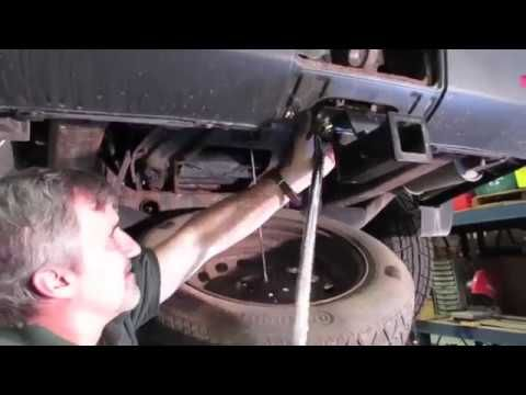 See How To Install A Bolt On Hitch Receiver To An Lr3 Lr4 Or Range Rover Sport By Watching This Video Before You Try Land Rover Range Rover Sport Range Rover