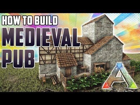 262 How To Build A Medieval Pub Ark Survival Evolved Youtube Ark Survival Evolved Ark Survival Evolved Bases Ark Survival Evolved Tips