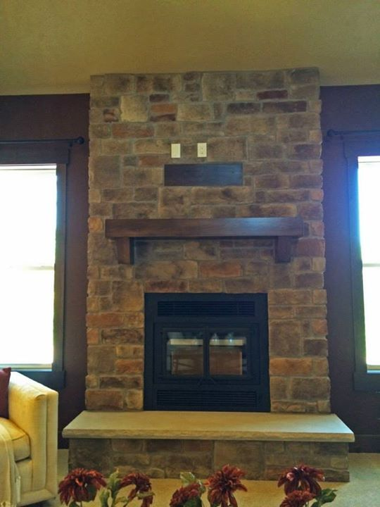 Stone Fireplaces Hearth And Tv Mounting On Pinterest