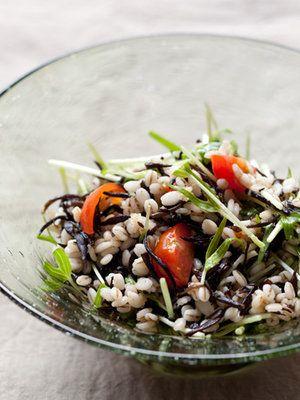 【ELLE a table】押し麦とひじきのマリネレシピ エル・オンライン