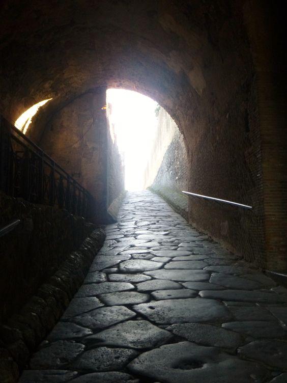 Entryway Into Pompeii Italy Amy Barnett Photo Pompeii