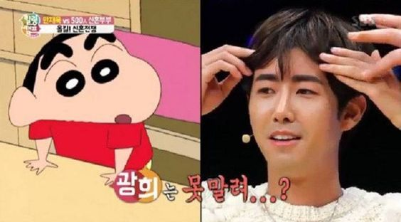 "Kwanghee Discusses His Tattooed Eyebrows with ""Healing Camp"" 