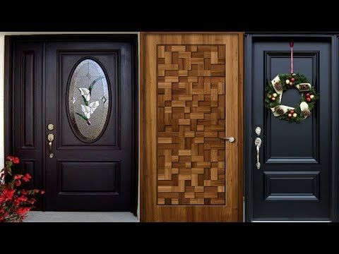 Top Modern Wooden Door Designs For Home 2019 Main Door