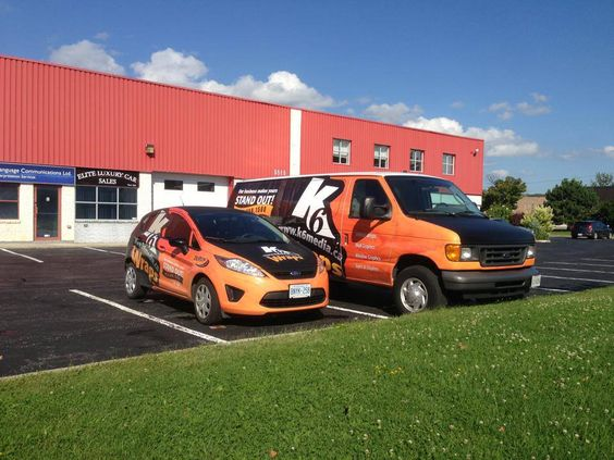 Our K6 Media #vehiclewrap family is growing!