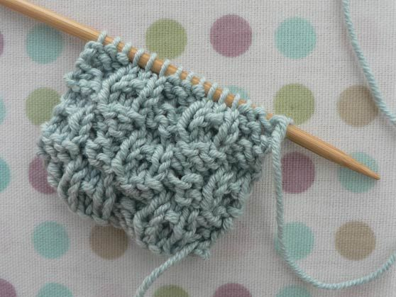 Dimples, Knitting and Knitting stitches on Pinterest