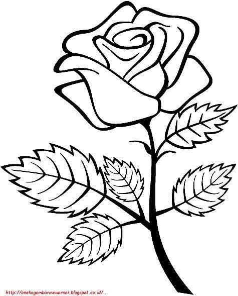 Fantastis 25 Sketsa Bunga Ukir 16 Contoh Gambar Sketsa Bunga Yang Mudah Digambar Hamparan 39 In 2020 Rose Coloring Pages Flower Coloring Pages Flower Sketch Images