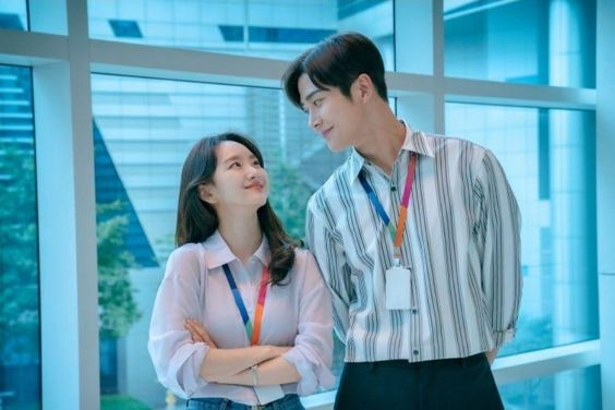 "SF9's Rowoon And Won Jin Ah's Playful Chemistry Shines Through In Upcoming Romance Drama ""She Would Never Know"""