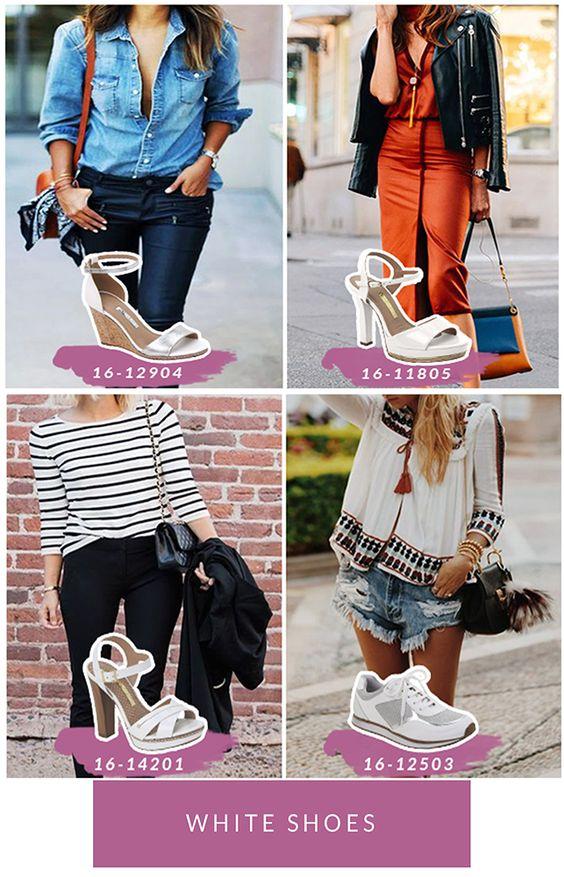 White shoes fever - o branco está com tudo! - Blog Garotas do Brasil - Tendência - Trend