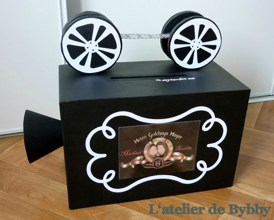 awesome movie camera card box  card boxes and wishing