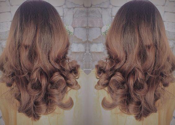 Cute hair brown