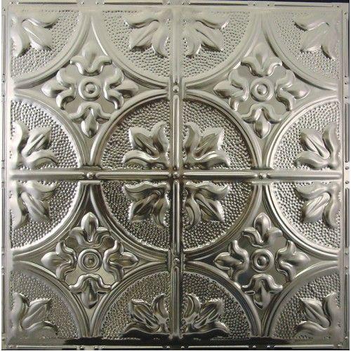 102 Tin Metal Ceiling Tile Fleur De Lis 12 Inch Pattern Tin Ceiling Metal Ceiling Tiles Metal Ceiling