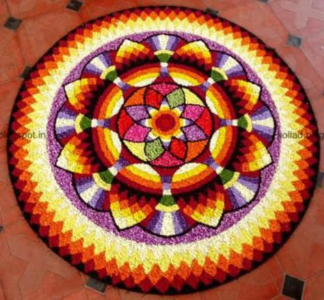 Onam Pookalam Designs And Themes For Competitions