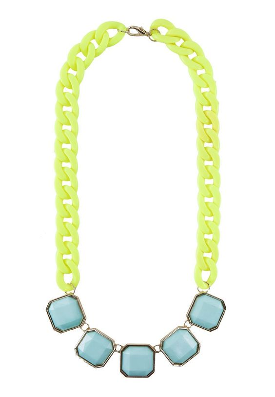 SOMETHING BORROWED Candy Chained Necklace 糖果色頸鍊