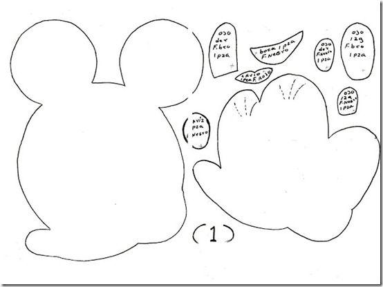 Goma eva minnie mouse minnie mouse and post plantillas - Plantillas goma eva ...