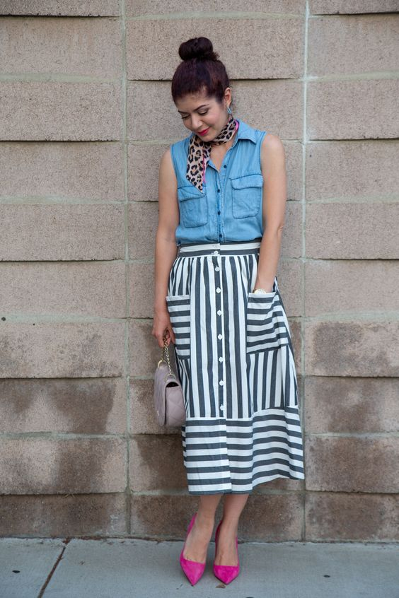 Cool Pattern Outfits
