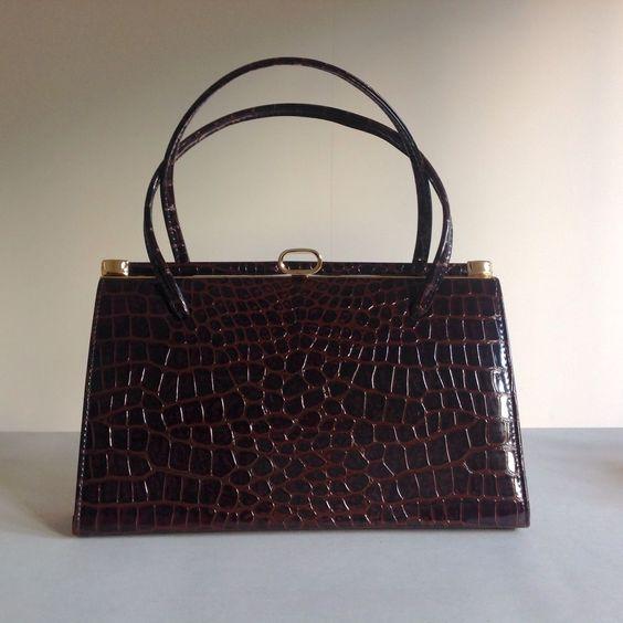 faux crocodile handbags