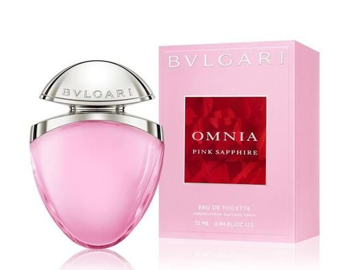 Bvlgari Omnia Pink Sapphire Edt Bvlgari Fragrance Celebrity Perfume Perfume Bottles