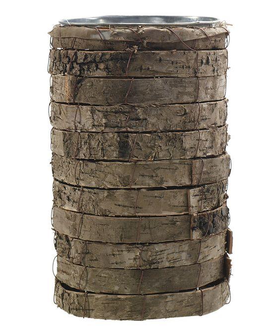 Another great find on #zulily! Birch 10'' Vase by Accent Décor #zulilyfinds