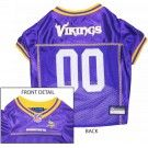 Minnesota Vikings Jersey. Officially licensed jersey, made with 100% polyester for easy machine washing.