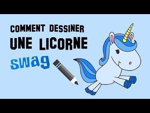 Dessin Licorne Swag