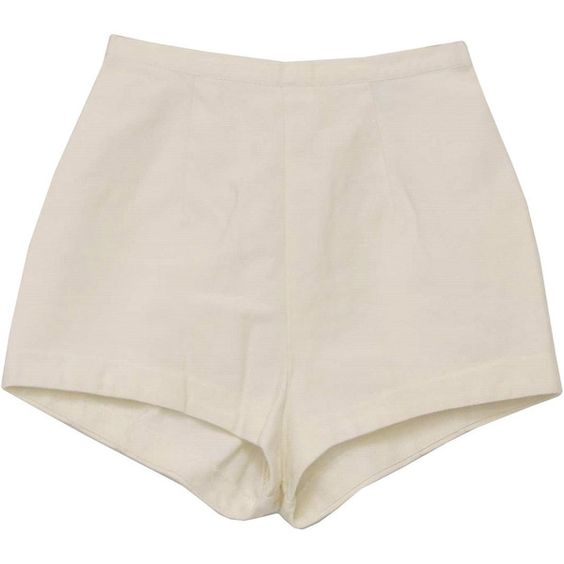 70's Catalina Shorts - 70s -Catalina- Womens white high waist ...