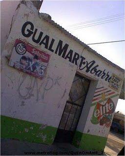 Mexican Walmart!