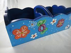 Cajas utilitarias para organizar en gavetas y closet. Elaborado en madera y pintado a mano. Utilitarian boxes  to organize drawers and closet. Made of wood and hand painted. http://eshops.mercadolibre.com.ve/secrets+from/