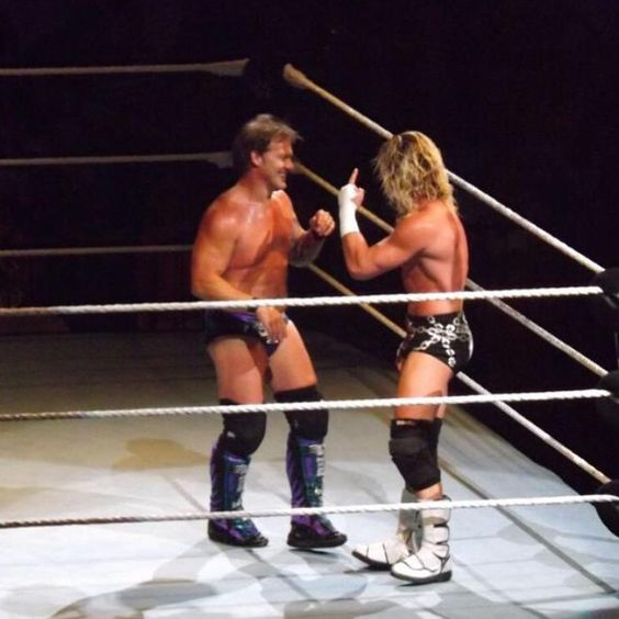 """Dolph explains how """"you can pick your friends and you can pick your nose...."""" #WWEBoston #zigachofinallywonamatch @heelziggler"""