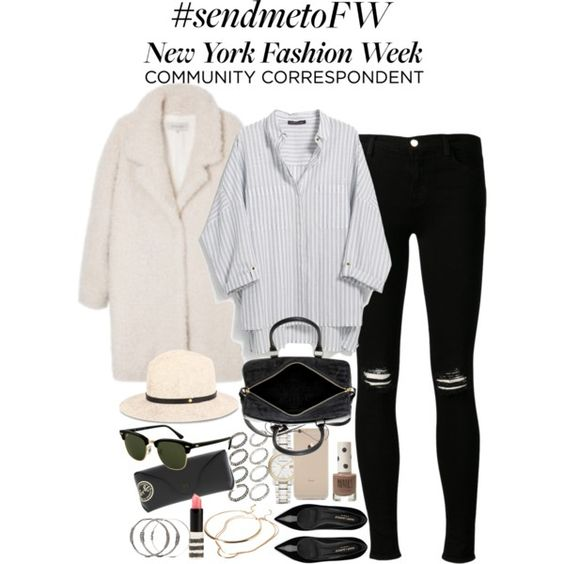 """""""Inspired outfit for NYFW"""" by whathayleywore on Polyvore"""