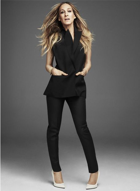 Sarah Jessica Parker and Theory Annea Vest
