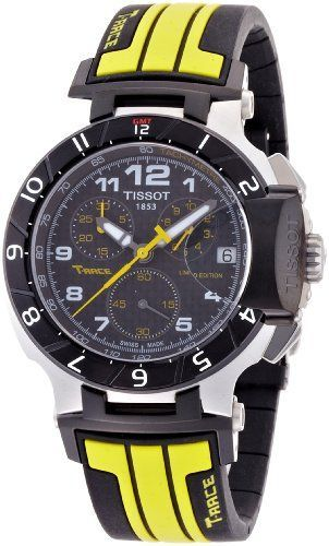 Tissot T Race Moto GP Chronograph Mens Watch T0484172720201 -- You can find more details by visiting the image link.