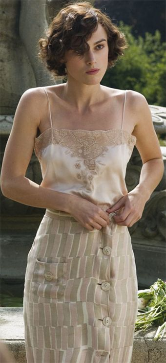 Keira Knightley, Cecilia Tallis - Atonement (2007) #joewright #ianmcewan (Costume Design by Jacqueline Durran):