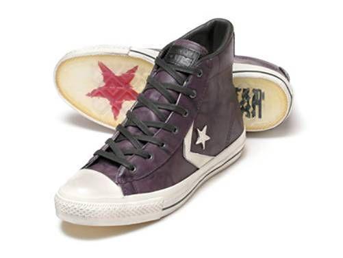 Converse X By John Varvatos Jv Star Player Ev Leather Shoe Sneaker Grape 139735c Ebay Converse Sneakers Converse Star Player