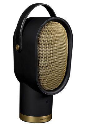 Enceinte Bluetooth Lenny / Sans fil - Edition limitée Noir & Or Marque : Elipson Designer : Pierre Favresse , Jean-Yves Le Porcher