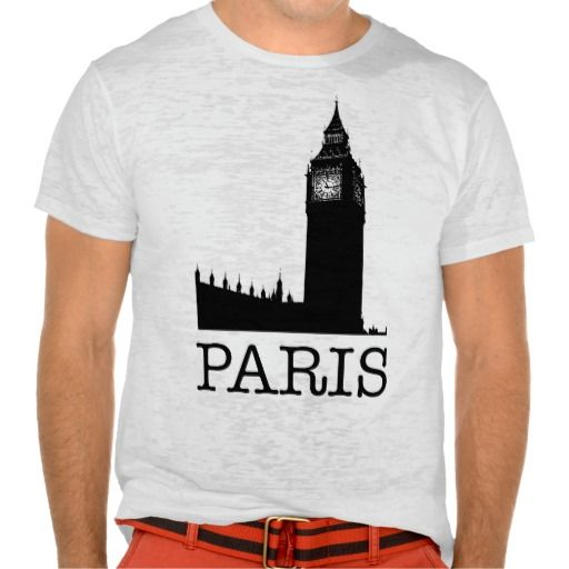 こういうセンス、嫌いじゃない方に♪  #パリ ? #ロンドン ??  誰かに突っ込んでほしい #Tシャツ 。 #zazzle