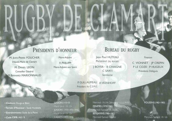 Calendrier 1997-1998 - 2ème Division - Pages 4-5