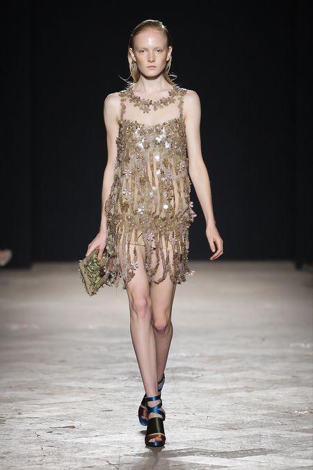 Spring 2013 RTW, Designer: Maurizio Pecoraro, Model: Maja Salamon