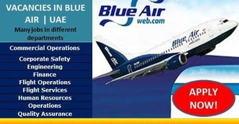 Job Vacancies In Blue Air Attractive Salary Accommodation Click Here To Apply Airline Jobs Blue Air Cabin Crew Jobs