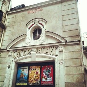 le Café de la Gare #theatre #Paris #France