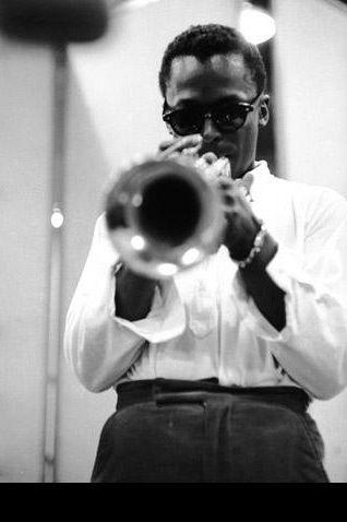 Miles Davis - the coolest cat ever. #MrAfropolitan #HEG }StyleIcon