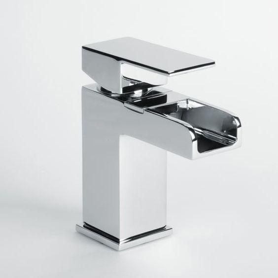Quadra Wasserfall-Waschtischarmatur