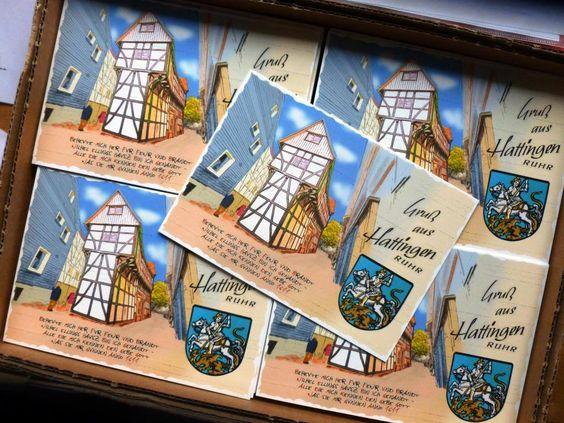 Verschenke 1000 Postkarten beim Altstadtfest in Hattingen - Gegenleistung unter http://wp.me/P2zjUI-9z  lesen